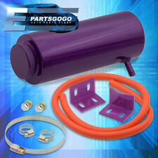 "8.1"" Jdm Purple T6061 Aluminum Over Flow Reservoir Tank Coolant Radiator Catch"