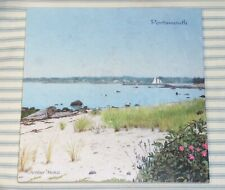 """Portsmouth Rhode Island Screencraft 8"""" Marble Trivet Handcrafted USA New In Box"""