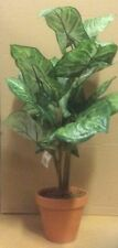 New Nephtytis (Angel Wings) Plant / Bush Artificial Silk Potted Plant 37cm