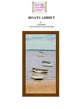 BOATS ADRIFT - CROSS STITCH CHART