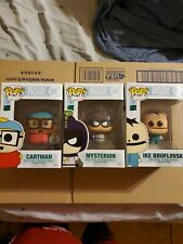 South park funko pop lot Cartman Ike Mysterion