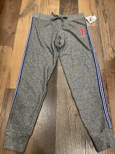 Philadelphia Phillies MLB Women's Gray Jogger Pants ~ NWT