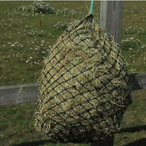 HUNGRY HORACE Extra Small Hole Haynet Haylage Net   LARGE - 110cm   Black