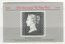 s34780 MARSHALL ISL. 1990 MNH** 150 years stamps 7v in booklet