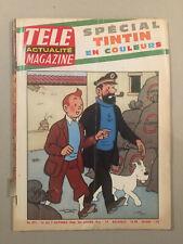 Tintin - Télé Magazine numéro 571 (1966) - BE
