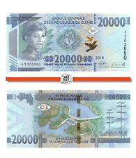 Guinea 20000 Francs 2018 Unc pn 50b