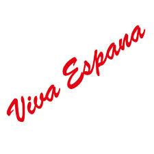 20cm rot Viva Espana Schriftzug Aufkleber Tattoo Auto Tür Fenster Deko Folie
