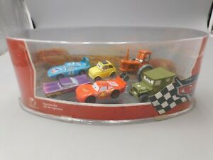2006 Disney Pixar Cars Figurine Set Lightning McQueen UNUSED NEW IN BOX TOYS#147