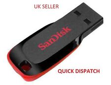 SANDISK Cruzer Blade 128gb USB Flash Drive facile soluzione di archiviazione