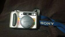 Sony Cyber-shot DSC-S75 3.2MP Digital Camera - Silver with Original Manual