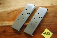 Metalform 1911 Magazine 45 Colt Auto Quantity (2) Stainless Great Capacity 7
