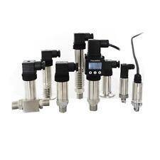 1pc 0-10bar Pressure Transmitter Transducer Sensor 24VDC G1/4 0-10V Output