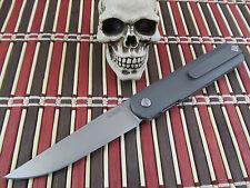 Michael Zieba G1 #80 CPMS35VN Titanium Front Flipper Ostap Hel Design