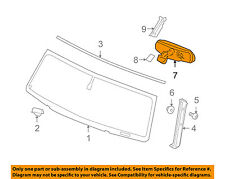 Hummer GM OEM 06-08 H2 Inside-Rearview Rear View Mirror 20824386