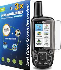 3x Anit-Glare Screen Protector Garmin GPSMAP 62 62s 62sc 62st 64 64s 64st 64sc