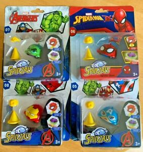 Marvel Avengers Superhero Spinzals Toy Spinning Ages 3 Years + Fun Collect