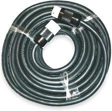 CEP Construction 6400S 100-Feet Black Rubber Alloy 50 Amp Temporary Power Cord