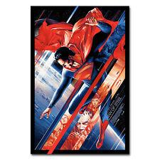 Superman Man of Steel Super Héroe Clásico Película Arte Cartel De Seda 12x18 20x30 pulgadas