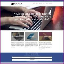 MACBOOK Website Business For Sale Upto $323.84 A Sale + Free Domain free Hosting