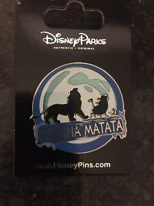 Disney Pins Lion King Hakuna Mutata MInt