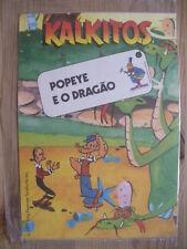 KALKITOS RUBBELBILDER, 1979, POPEYE UND DER DRACHE, TOP, OVP !
