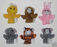 12 Assorted Animals Kid Finger Puppets Toy Party Goody Loot Bag Favor Supply