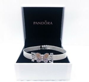 Pandora Silver 18 Cm 7 1 In Bracelet Fashion Charms Charm Bracelets For Sale Ebay
