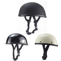 DOT Motorcycle Half Helmet Skull Cap Scooter Chopper Scooter Helmet Lightweight