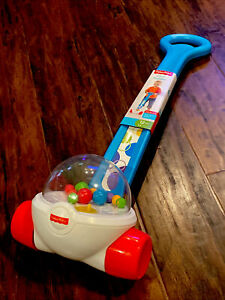 New Fisher-Price Toddler 1-3 Year Old Outdoor and Indoor Toy Blue Corn Popper