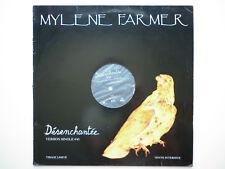 Mylene Farmer Maxi 45Tours vinyle Promo Désenchantée