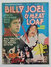Welcome Back Beatles Magazine 1979 Spring Billy Joel Meatloaf Kiss Patti Smith