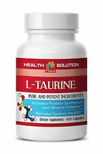 L-Taurine Powder - L-TAURINE 500mg - Huge Muscle Volume Boost - 1Bot