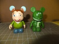 "LOT OF 2 3"" Disney Vinylmation Quasimodo and Rex"