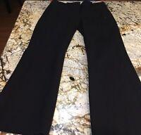 J Crew Women's City Fit Black Dress Pants Sacks Career Business Work Size 0