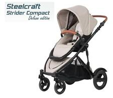 Br New Steelcraft Strider Compact Deluxe Edition Stroller Pram Natural Linen