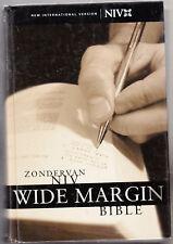 ZONDERVAN HOLY NIV NEW INTERNATIONAL VERSION, WIDE MARGIN BIBLE, Hardcover, 2001