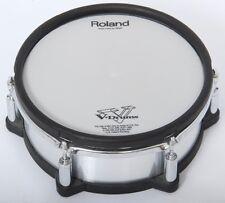 Roland pd-267x25.4cm Silber gebürstetes Metall doppelt Trigger Netz E-Drums Pad