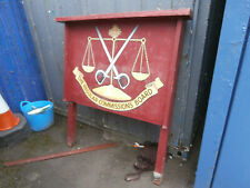 More details for vintage/antique military sign the regular commisions board