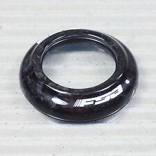 """FSA H2100A Steuersatz TopCap 1 1/8"""" Höhe 8,7 mm Carbon schwarz für Orbit CE"""
