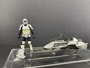 STAR WARS Speeder Bike with Scout Trooper /Legacy Collection Hasbro TRU