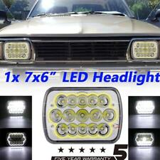 7x6 Inch Brightest LED Headlight Rectangle DRL Lamp For Dodge D150 D250 D350 Ram