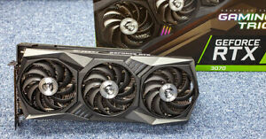 Foto MSI GeForce RTX 3070 Gaming X Trio 8G