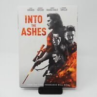 Into the Ashes (DVD, 2019, WS) Luke Grimes, Frank Grillo  + SLIP COVER  NEW