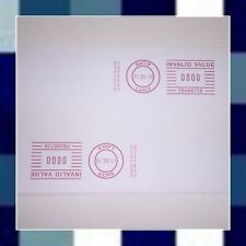 FRANKING MACHINE LABELS 1000 Labels 140x38mm for Pitney Bowes & Nepost machines