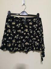 Hollister Co. CHAIN RUFFLE WRAP MINI SKORT - A-line skirt - Medium - N113