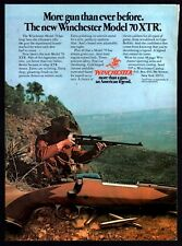 1978 WINCHESTER Model 70 XTR RIFLE AD Vintage Firearms Advertising