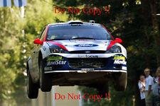 Colin McRae. FORD FOCUS RS WRC 02 RALLY FINLANDIA fotografia 2002