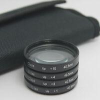 40.5mm Macro Close Up +1 +2 +4 +10 filter  For Samsung NX11 NX200 20-50mm Nikon