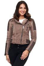 Cappotti e giacche da donna marrone di lunghezza lunghezza alla vita taglia M