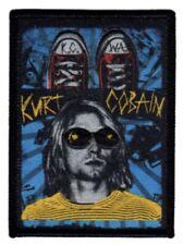 Nirvana Kurt Cobain WovenPatch Patch N025P Foo Fighters Cobain Mudhoney